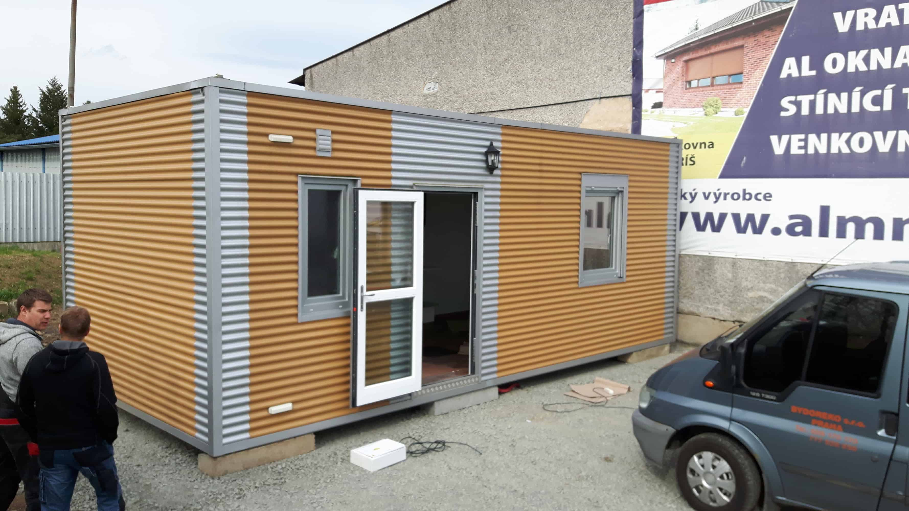 Mobilní domy ktrvalému bydleni