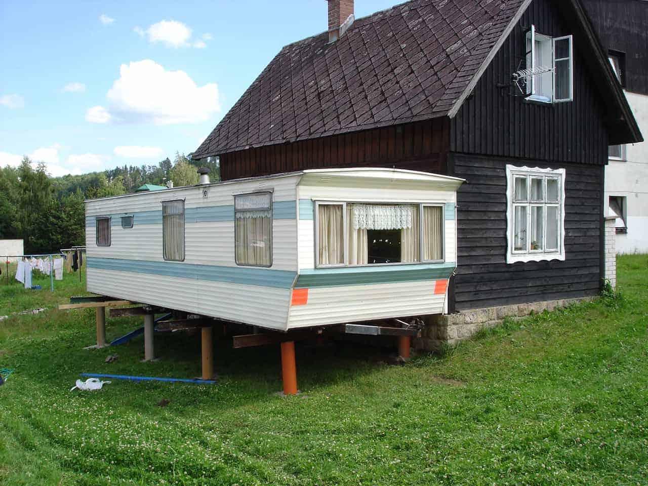 Použité mobilní domy